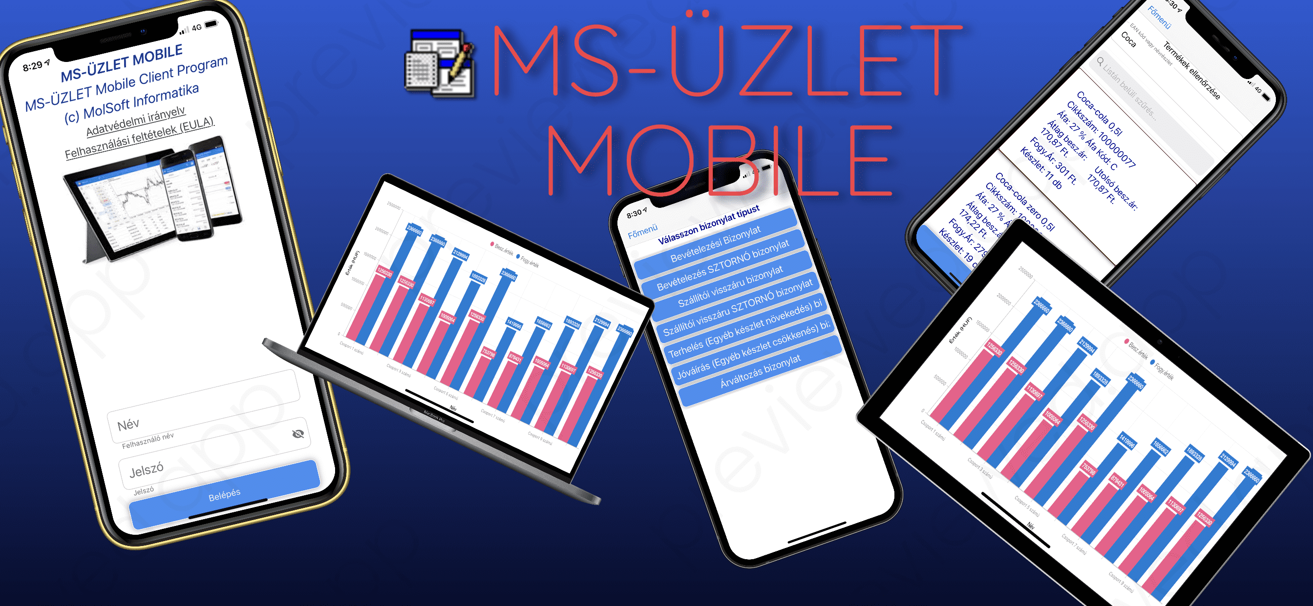 MS-ÜZLET mobil